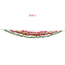 Silk Ribbon Bunting