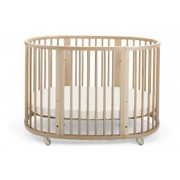 Sleepi - The Oval Crib 120 cm - Natural