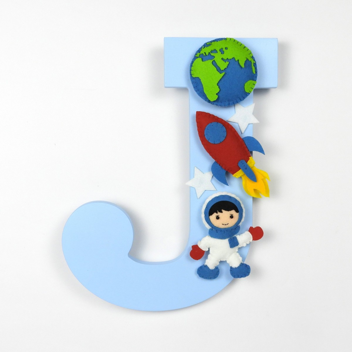Space Themed Personalised Alphabet