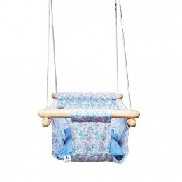 Pine Wood Swing - Spring Time