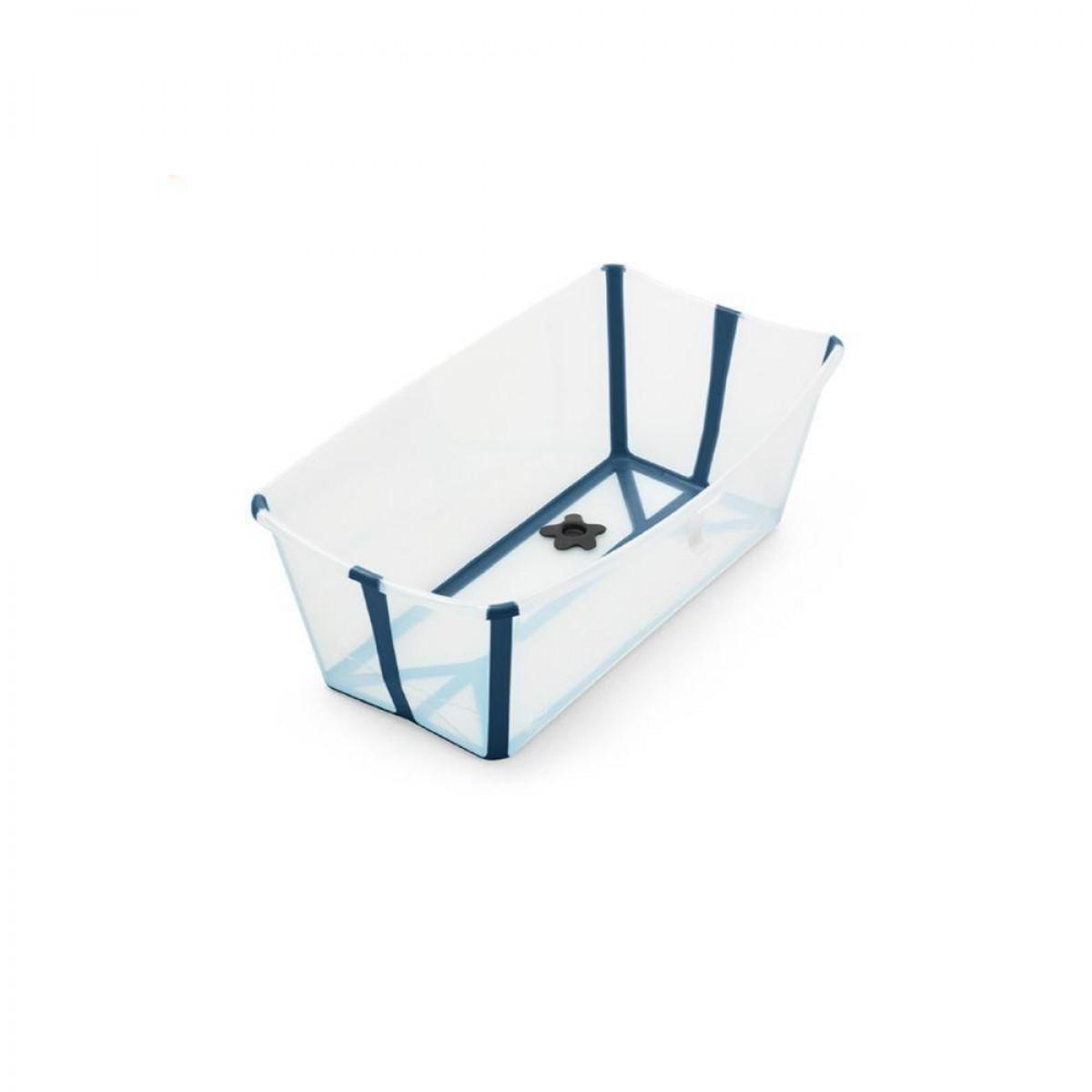 Stokke Flexi Bath - Transparent Blue