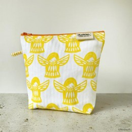 TRAVEL - Toilet Bag : Angela Yellow