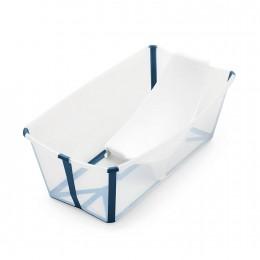 Flexi Bath Tub Bundle Pack -Transparent Blue