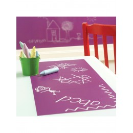 Wallies Room Decor Sticker Chalkboard, Grapes - Pack of 4