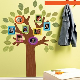 Wallies Room Decor Sticker Fun Family Tree