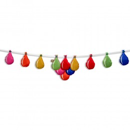 Water Balloon Bunting