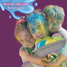 Water Balloon Bucket Cushion