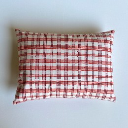 Kids Gift Set - Organic Manjha Print Kapok Pillow + Maracas