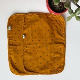 Kids Organic Raidana Burp Cloth Set