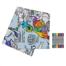 Table Cloth - World Map