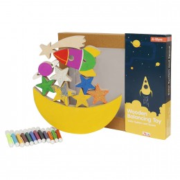 Balancing Toys - Solar System Space Theme
