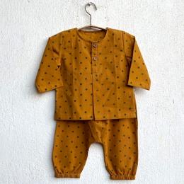 Unisex Organic Raidana Print Kurta with Pants