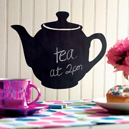 Wallies Room Decor Sticker Teapot