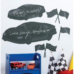 Wallies Room Decor Sticker Fast Cars