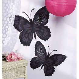 Wallies Room Decor Sticker Butterfly Mural