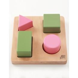Wooden Puzzle - Blocks