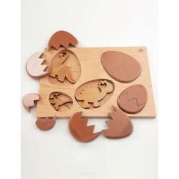 Wooden Puzzle - Dino