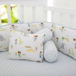 Adventures of a Prince Organic Pillow/Bolster Set