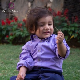 Classique Shirt - Lilac