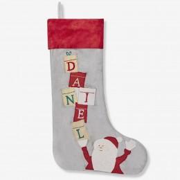 Balancing Santa Luxe Stocking