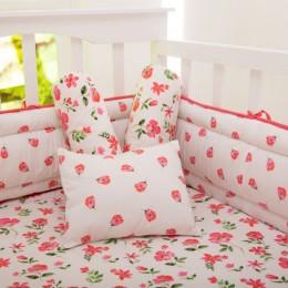 Blossoms Organic Pillow/Bolster Set
