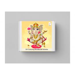 DIY Colouring Wooden Bal Ganesha Activity Box