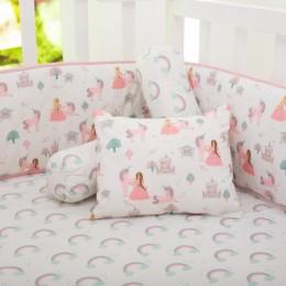 Fairytale Organic Pillow/Bolster Set