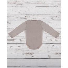 Full Sleeves Piccolo Bodysuit Grey