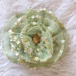 Fulwari Hair Clips -Mint Green
