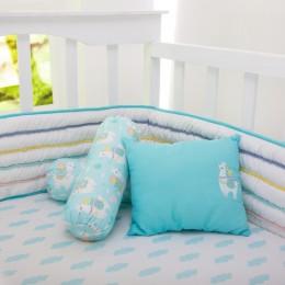 Llama Love Organic Pillow/Bolster Set