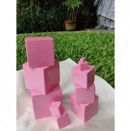 Pink Tower - Montessori Material