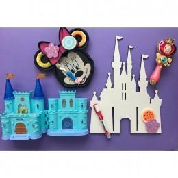 Chalkboard + WhiteBoard -Princess Castle
