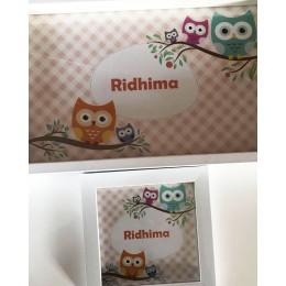 Owl Name Frame