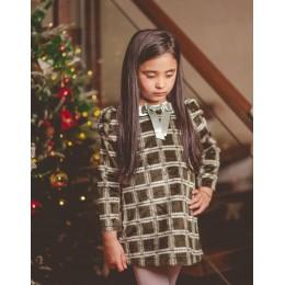 Serena Fur Dress