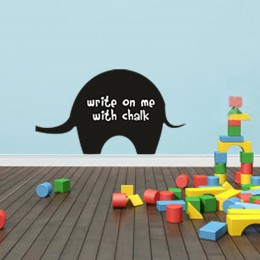 Talk with Chalk Elephant : Chalk Decals