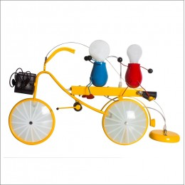 Bicycle Light Riders Ceiling Lights