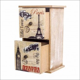 Destination Drawers-Paris Theme