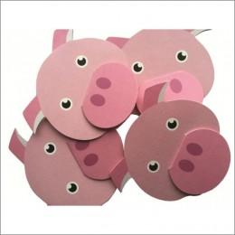 Piggy Gift Tag (Set of 5)