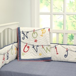 Now I Know My ABCS Quilt Set
