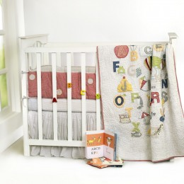 A Is For Apple Cot Bumper