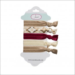 Summer Wine- No Crease Hair Ties