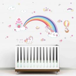 Unicorn Love Wall Stickers