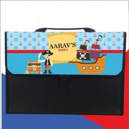 Pirates Theme Folder - Personalized