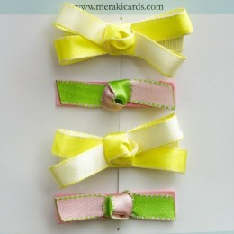 Little Miss Chic-Set of 4 Hair Clips