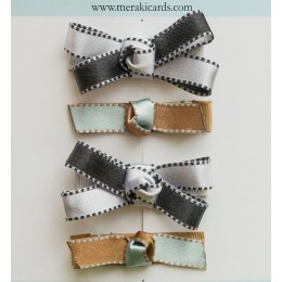 Little Miss Classy-Set of 4 Hair Clips