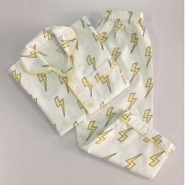 Organic Lightning Pajama Set