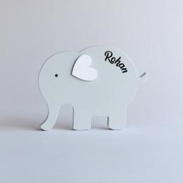 Little Ellie Shelf Decor - Grey