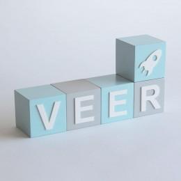 Name Blocks - Modern | Price Per Alphabet