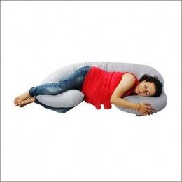 Pregnancy Pillow - Black & White Checks