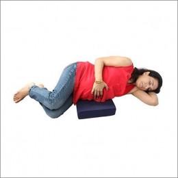 Wedge Pillow - Navy Blue